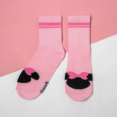 Носки , Минни Маус, розовый, 22-24 см