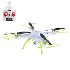 Квадрокоптер SymaX5HW, камера 0,3 Mpx, передача изображения на смартфон, барометр, цвет белый