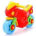 Конструктор-транспорт «Мотоцикл», 25 элементов (в пакете) - фото 106955877