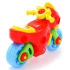 Конструктор-транспорт «Мотоцикл», 25 элементов (в пакете) - фото 106955879