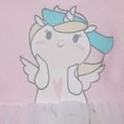 """Боди с юбкой Крошка Я """"Единорог"""", розовый,рост 62-68 см - фото 105479673"""