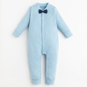 "Romper Baby I ""Suit"", blue, height 62-68 cm"