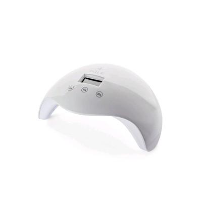 Лампа для гель-лака POLE L24-01-01, UV/LED, 24 Вт, таймер 30/60/90, белая