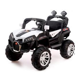 Уценка Электромобиль «Багги», полный привод 4WD, цвет белый