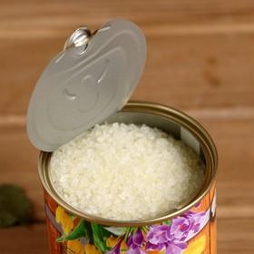 Соль для бани с ароматом ванили в банке - фото 1633840