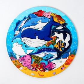 Зоопазл «Подводный мир» 16 деталей