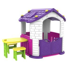 Игровой домик со столиком