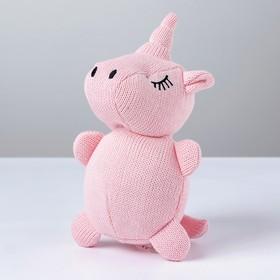 Мягкая игрушка «Единорог», вязаный, цвета МИКС