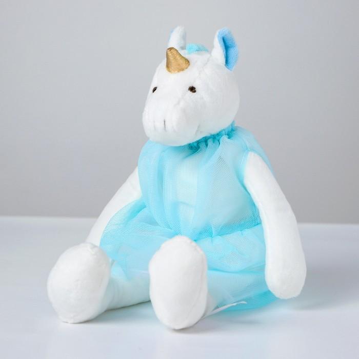 Мягкая игрушка «Единорожка в платье», цвета МИКС - фото 4471301