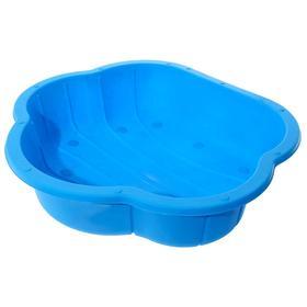 Песочница-бассейн голубая