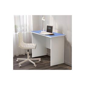 Стол компьютерный №8, 1000 × 600 × 770 мм, лдсп, цвет белый / синий