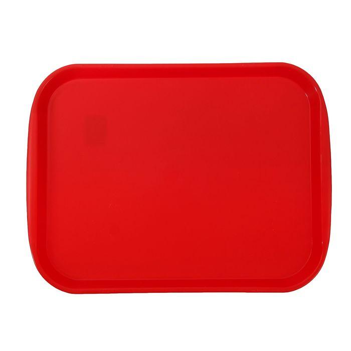 Поднос «Титан», цвет красный
