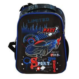 Рюкзак каркасный, deVENTE Choice, 38 х 28 х 16 см, Racing, синий