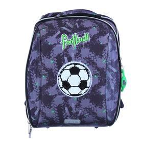 Рюкзак каркасный, deVENTE Cool, 39 х 30 х 19 см, Goal, серый