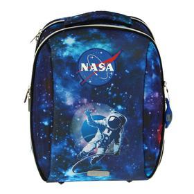 Рюкзак каркасный, deVENTE Cool, 39 х 30 х 19 см, Nasa, синий