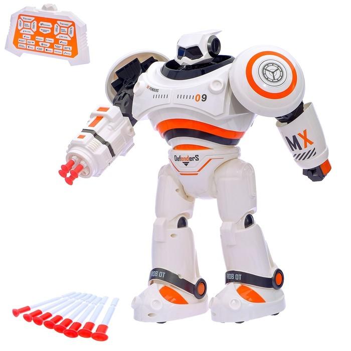 Робот интерактивный радиоуправляемый CRAZON с аккумулятором, цвет оранжевый
