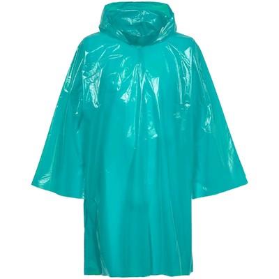 Дождевик-плащ CloudTime, цвет бирюзовый