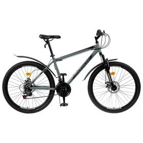 """Велосипед 26"""" Progress модель Advance Disc RUS, цвет серый, размер 19"""""""