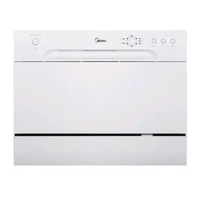 Посудомоечная машина Midea MCFD-0606, 1380 Вт, 6 комплектов, 6 программ, белая