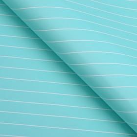 Бумага глянцевая, люрекс, 49 х 70 см, ярко - голубая в Донецке