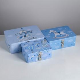 Подарочный набор Enjoy every moment, 24,5 х 18 х 8 - 17,5 х 13 х 7,5 см