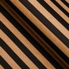 "Paper packing, ""Stripes"", Kraft, black, 50 x 70 cm"