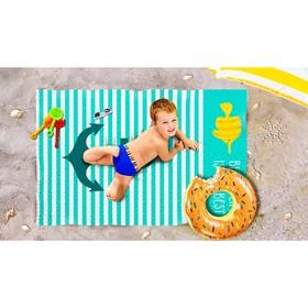 Пляжное покрывало «Лучший пляж», размер 90 × 140 см