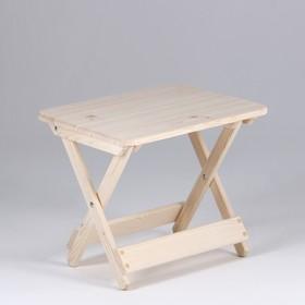 Столик к шезлонгу, хвоя, 50×40×43см Ош