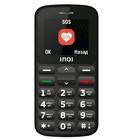 "Сотовый телефон INOI 107B 2"", microSD, 0,3МП, 2 sim, чёрный"