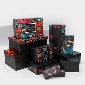 Набор подарочных коробок 10 в 1 «Бабочки», 12 × 7 × 4 - 32.5 × 20 × 12.5 см