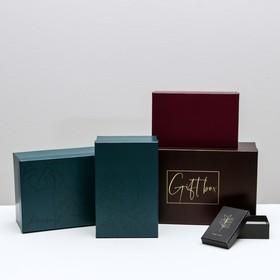 Набор подарочных коробок 10 в 1 «Тренд», 12 × 7 × 4 - 32.5 × 20 × 12.5 см