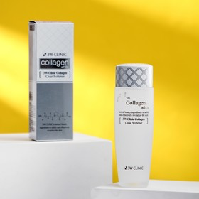 Восстанавливающий софтнер для лица с коллагеном 3W CLINIC Collagen White Clear Softener, 150 мл