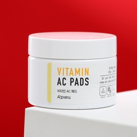 Пилинг-диски с AHA и BHA кислотами и витаминами A'PIEU Vitamin AC Pad, 36 шт, 60 г