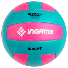 Мяч волейбольный INGAME BRIGHT, цвета МИКС