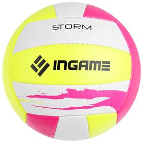 Мяч волейбольный INGAME STORM, цвета МИКС