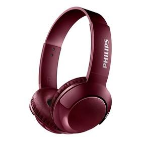 Наушники Philips shb 3075RD накладные, с микрофоном, беспроводные, красные