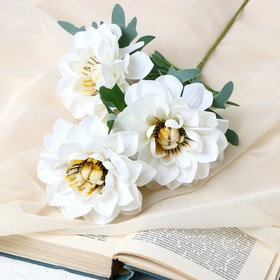 """Artificial flowers """"Anemones large"""" 11*60 cm, white"""