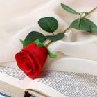 """Цветок искусственный """"Бутончик розы"""" 5х50 см красный - фото 4456266"""