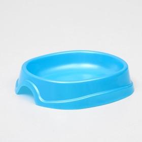 "Миска №1 ""Нулевка"" 0,2 л, 13,5 х 12,5 х 3 см, голубой перламутр,"