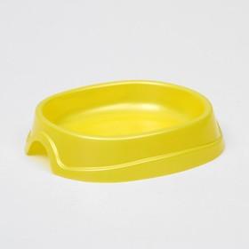 "Миска №1 ""Нулевка"" 0,2 л, 13,5 х 12,5 х 3 см, желтый перламутр,"