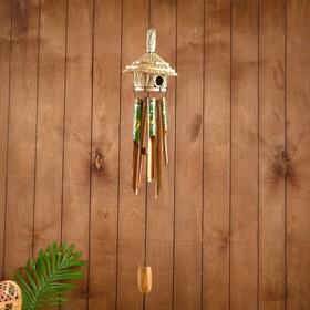 """Music of wind """"Dolphins"""" bamboo 15х15х100 cm"""
