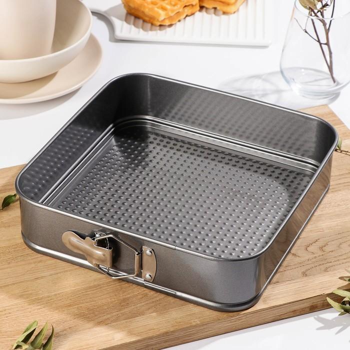 "Baking detachable 26 cm ""Elin. Square"", non-stick coating"