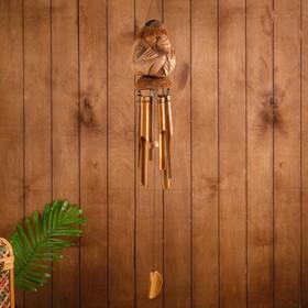 """Music of wind """"Brownie"""" bamboo 15х15х100 cm"""
