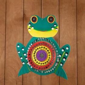 Сувенир подвесной 'Лягушка' мдф 25х25х0,5 см Ош