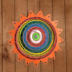 """Souvenir pendant """"Sun"""" MDF 33х33х0,5 cm"""