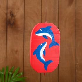 "Souvenir pendant ""Dolphin"" tree 12х13х15 cm"