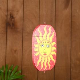 "Сувенир подвесной ""Солнце"" дерево 12х13х15 см"