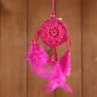 "Dreamcatcher ""Peace of mind"" pink 6х0,5 × 20 cm"