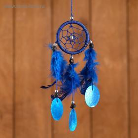 """Ловец снов """"Нежность"""" синий 6х0,5х20 см"""