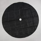 Круг приствольный, d = 1,6 м, спанбонд с УФ-стабилизатором, набор 2 шт., чёрный, Greengo, Эконом 20%